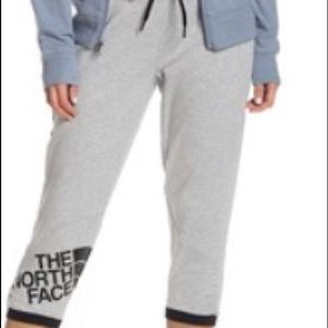 The north face crop joggers